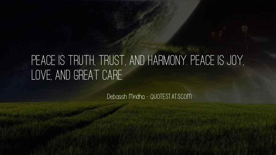 Quotes About Truth And Trust #1136713