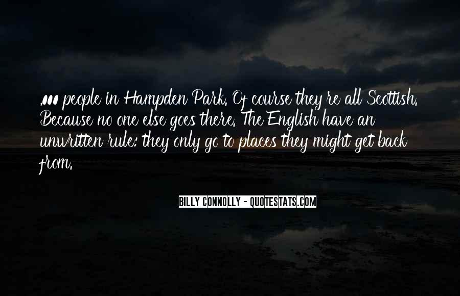 Hampden Quotes #1807984