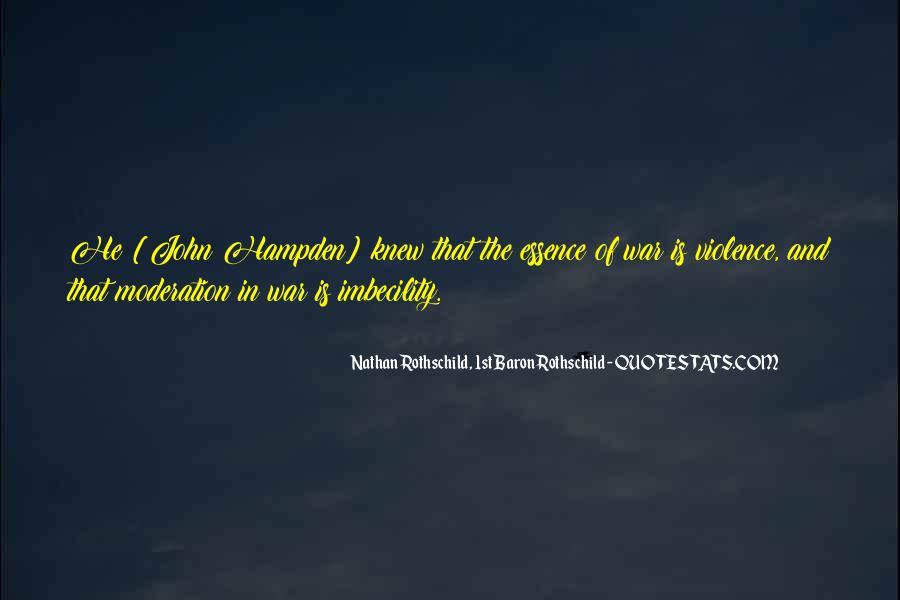 Hampden Quotes #497651