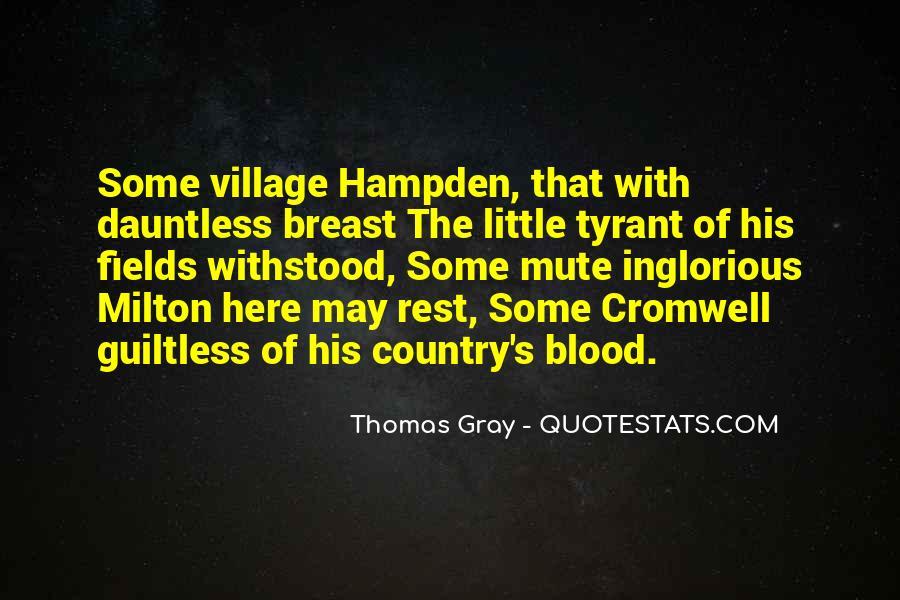 Hampden Quotes #536801