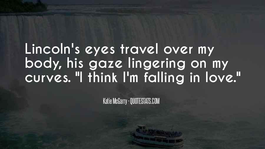 Quotes About Falling In Love With Someone Eyes #1024256