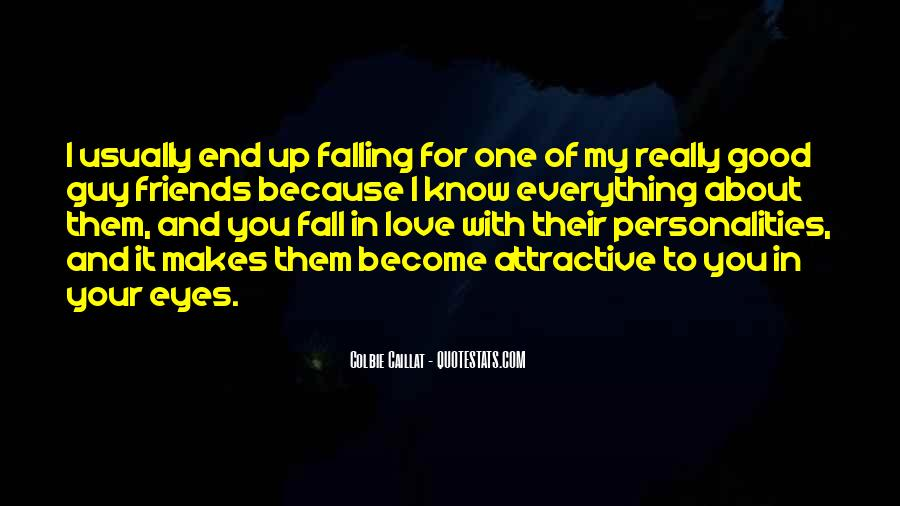 Quotes About Falling In Love With Someone Eyes #368703