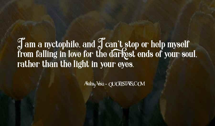 Quotes About Falling In Love With Someone Eyes #7618