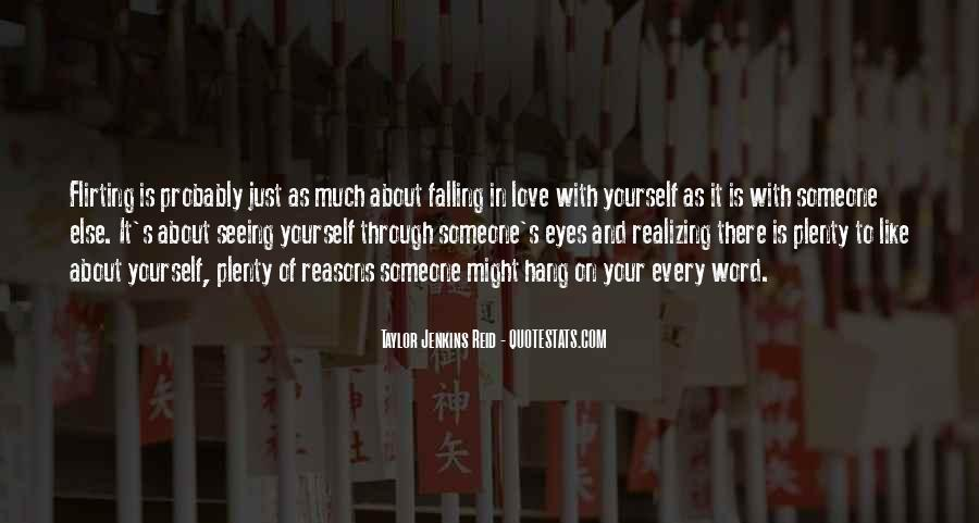 Quotes About Falling In Love With Someone Eyes #763398
