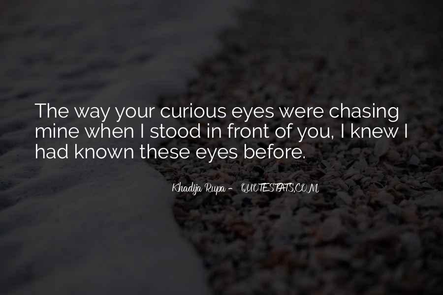 Quotes About Falling In Love With Someone Eyes #996950