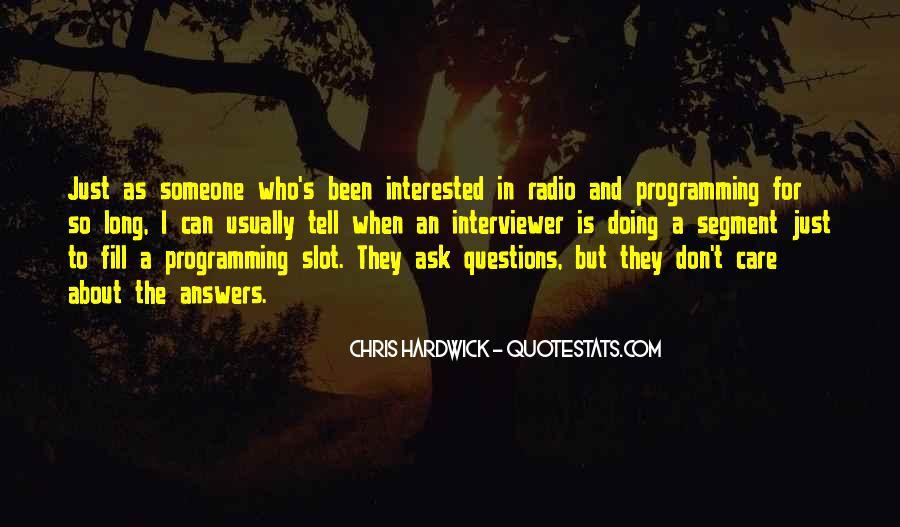 Hardwick's Quotes #1284877