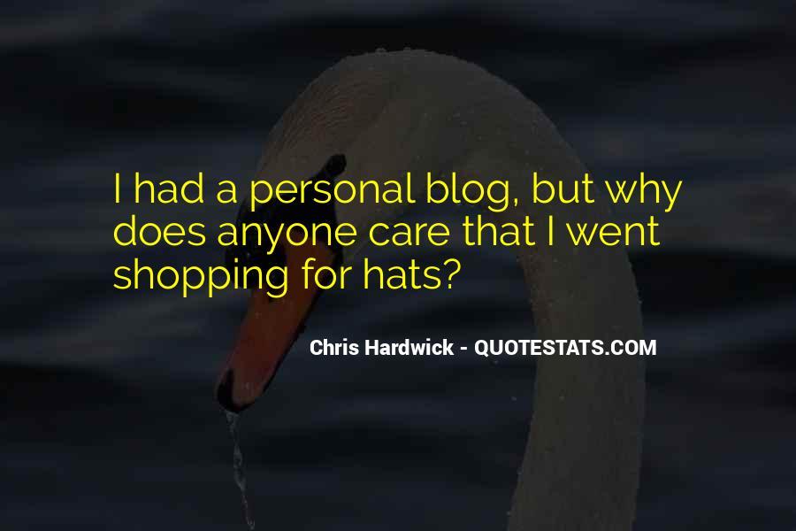 Hardwick's Quotes #143981
