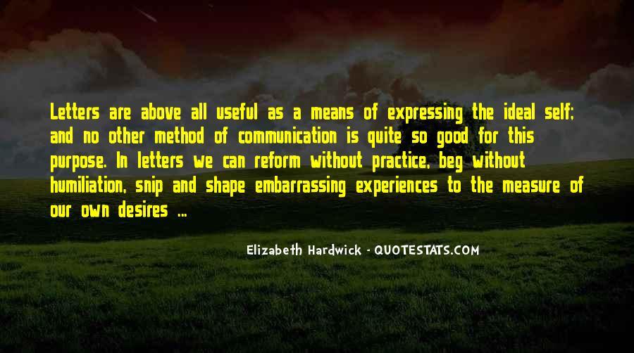 Hardwick's Quotes #276299