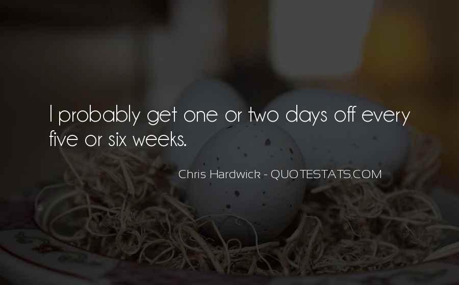 Hardwick's Quotes #414172