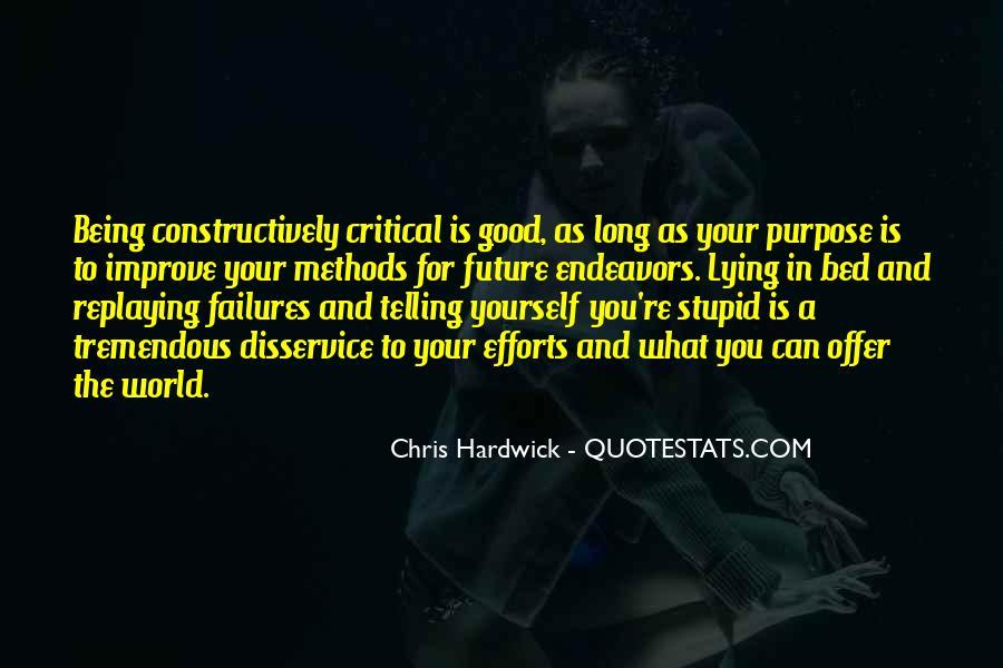 Hardwick's Quotes #428321