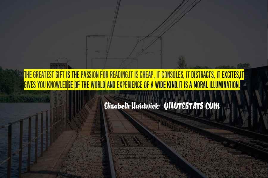 Hardwick's Quotes #461387