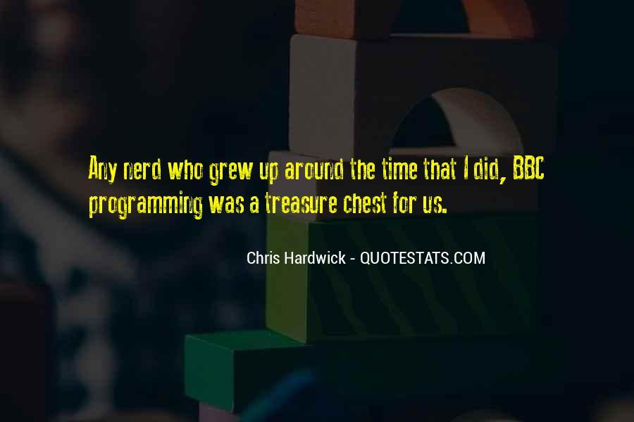 Hardwick's Quotes #529489