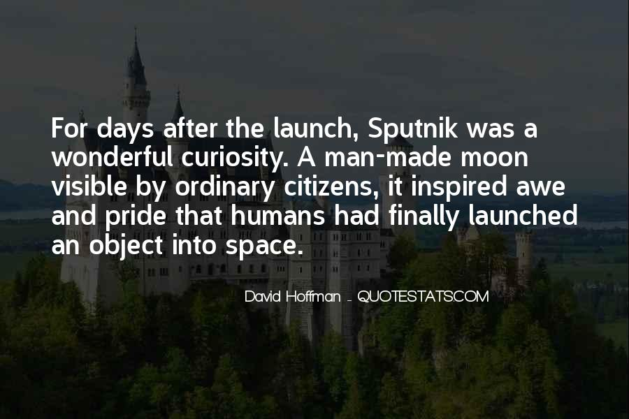 Quotes About Sputnik #388964