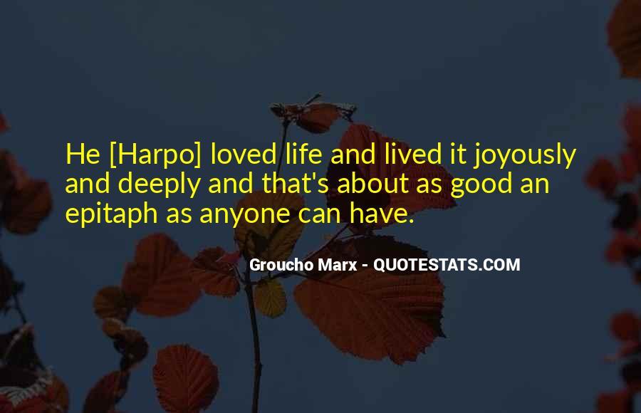 Harpo Quotes #1307240