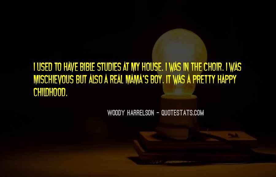 Harrelson Quotes #170851