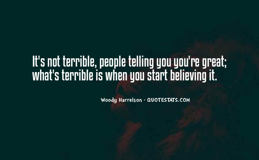 Harrelson Quotes #25806