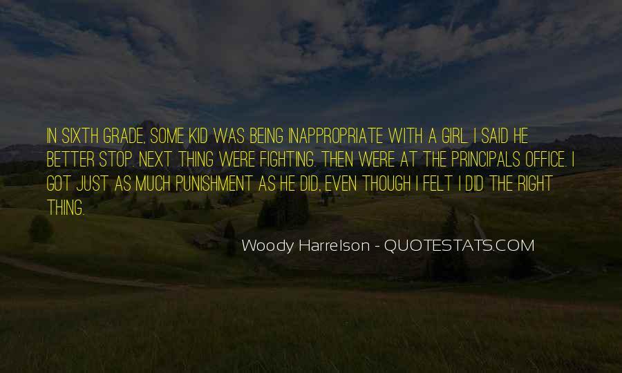 Harrelson Quotes #303621