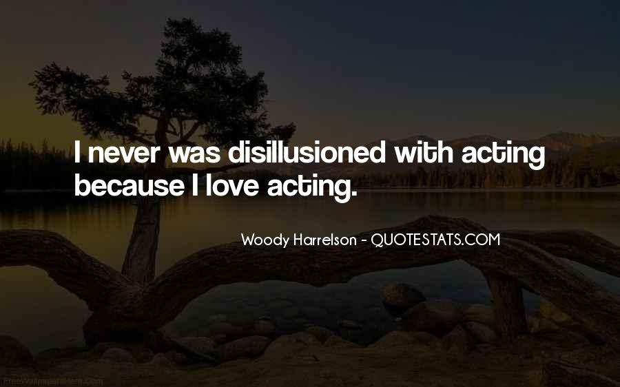 Harrelson Quotes #451534