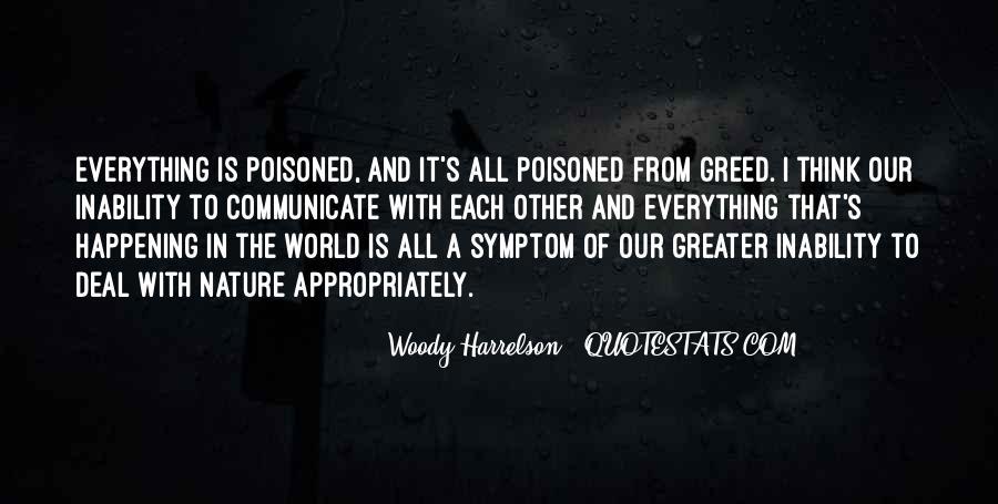 Harrelson Quotes #494046