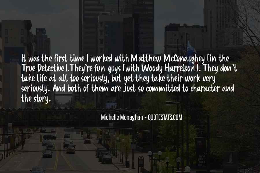 Harrelson Quotes #987054